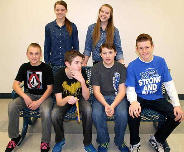 Dixon Science Fair Winners