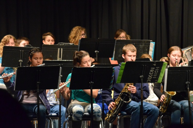 The Jazz Band at the 85th anniversary assembly.